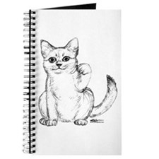 Maneki Neko Beckoning Cat Journal