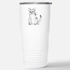 Maneki Neko Beckoning Cat Travel Mug