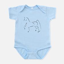 Stylized 3-Gaited American Saddlebred Infant Bodys