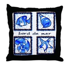 Bord de mer  Throw Pillow