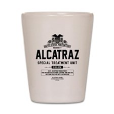 Alcatraz S.T.U. Shot Glass