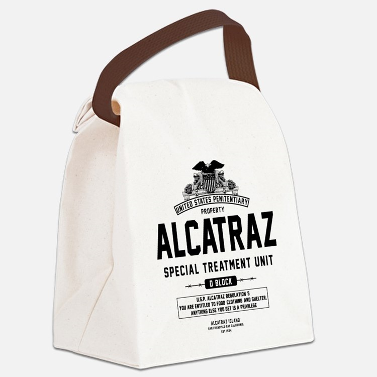 Alcatraz S.T.U. Canvas Lunch Bag