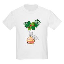 Westie on Ornament Kids T-Shirt