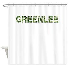 Greenlee, Vintage Camo, Shower Curtain