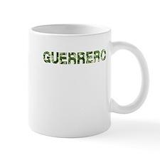 Guerrero, Vintage Camo, Small Mug