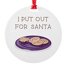 I PUT OUT... Ornament