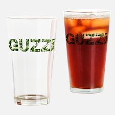Guzzi, Vintage Camo, Drinking Glass