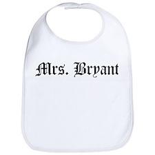Mrs. Bryant  Bib