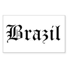 Brazil Rectangle Decal