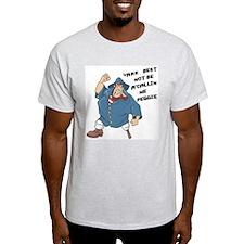 Peggie Ash Grey T-Shirt