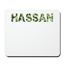 Hassan, Vintage Camo, Mousepad