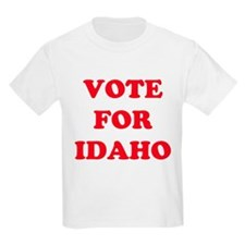 VOTE FOR IDAHO Kids T-Shirt