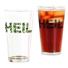 Heil, Vintage Camo, Drinking Glass