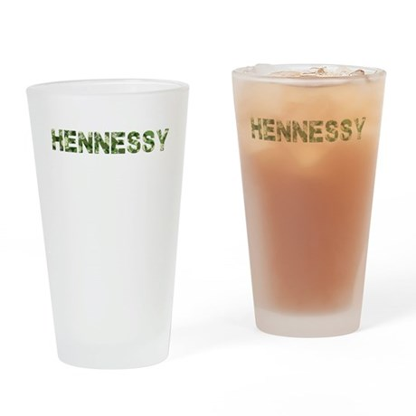 Hennessy, Vintage Camo, Drinking Glass