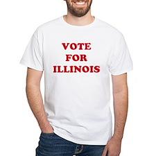 VOTE FOR ILLINOIS Shirt