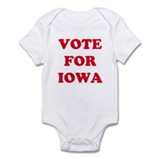 VOTE FOR IOWA Infant Bodysuit