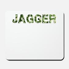 Jagger, Vintage Camo, Mousepad