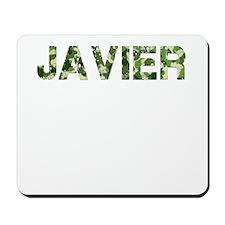 Javier, Vintage Camo, Mousepad
