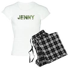 Jenny, Vintage Camo, Pajamas