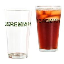 Jeremiah, Vintage Camo, Drinking Glass