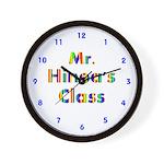 Custom Classroom Clock Wall Clock