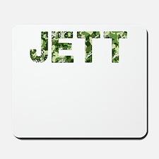 Jett, Vintage Camo, Mousepad