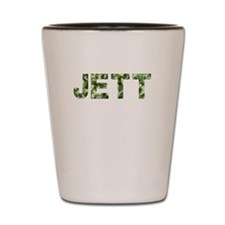 Jett, Vintage Camo, Shot Glass