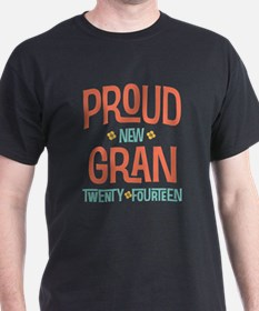 Proud New Granny 2014 T-Shirt