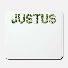 Justus, Vintage Camo, Mousepad