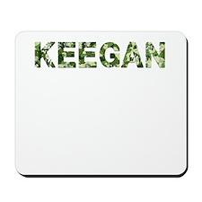Keegan, Vintage Camo, Mousepad