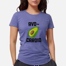 Avo-Cardio Avocado Emoji Womens Tri-blend T-Shirt