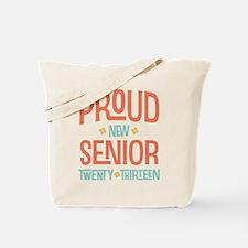 Proud New Senior 2013 Tote Bag