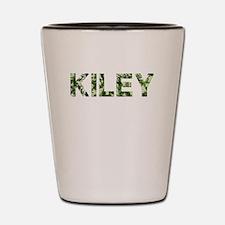 Kiley, Vintage Camo, Shot Glass