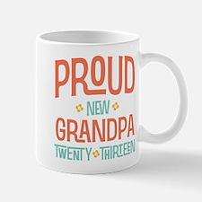 Proud New Grandpa 2013 Mug