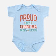 Proud New Grandma 2013 Infant Bodysuit