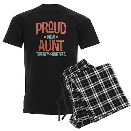 Proud New Aunt 2013 Men's Dark Pajamas