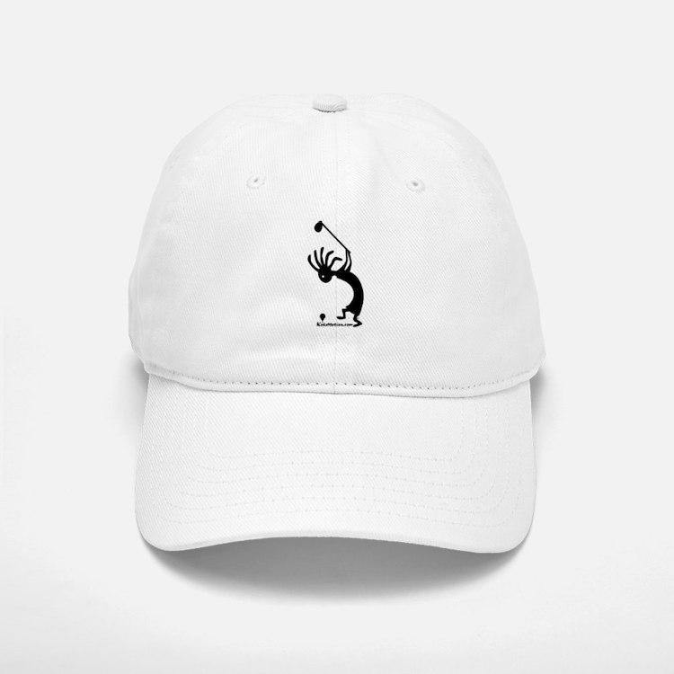 Kokopelli Golfer Baseball Baseball Cap