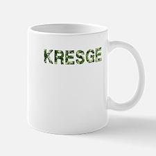 Kresge, Vintage Camo, Mug