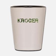 Kroger, Vintage Camo, Shot Glass