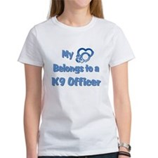 K9 Officer Heart T-Shirt