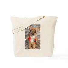Dog Bear Tote Bag