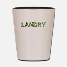Landry, Vintage Camo, Shot Glass