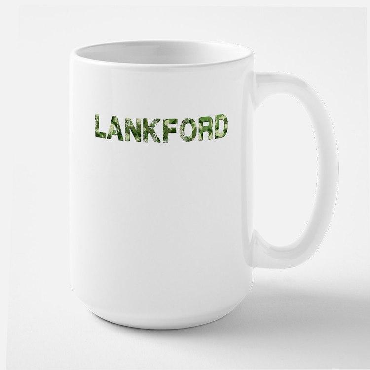 Lankford, Vintage Camo, Large Mug