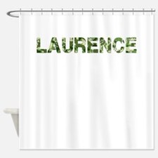 Laurence, Vintage Camo, Shower Curtain