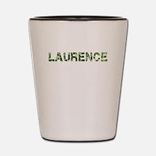 Laurence, Vintage Camo, Shot Glass