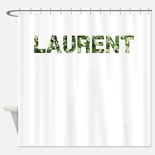 Laurent, Vintage Camo, Shower Curtain