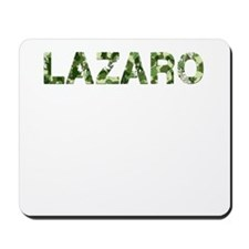 Lazaro, Vintage Camo, Mousepad