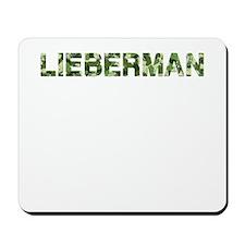 Lieberman, Vintage Camo, Mousepad