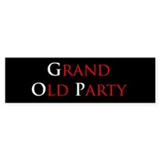 Grand Old Party (GOP) Bumper Bumper Sticker