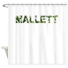 Mallett, Vintage Camo, Shower Curtain